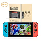 [2-Pack]Tempered Glass Screen Protector for Nintendo Switch By Mibote