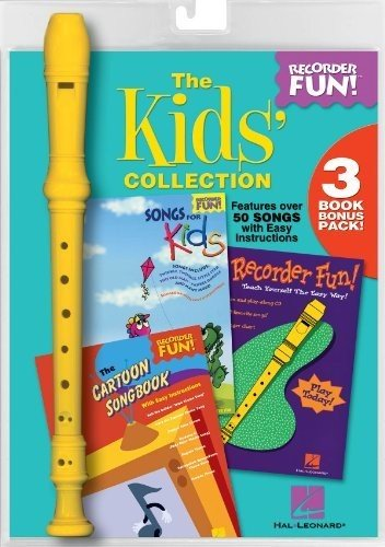 Hal Leonard The Kids' Collection - Recorder Fun! 3-Book Bonus Pack