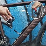 Vincita Adjustable Bottle Cage for Bike - Black