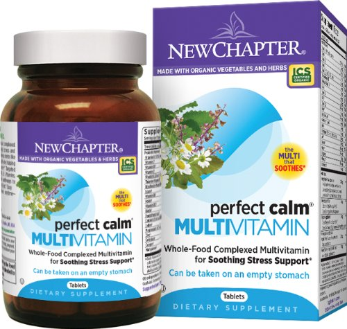 Perfect Calm Multivitamin by New Chapter, 144 Tablets