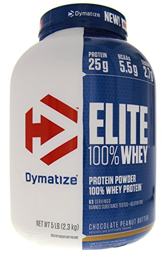 Whey Protein, Chocolate Peanut Butter, 5lbs (100% Natural Whey Chocolate)
