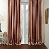 Red Yellow Striped Curtain Drape – KoTing 1 Panel Curtain for Livingroom Grommet Top 72 by 84-Inches For Sale