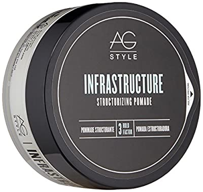 AG Hair Infrastructure Structuring Pomade, Sweet Cranberry, 2.5 fl. oz..