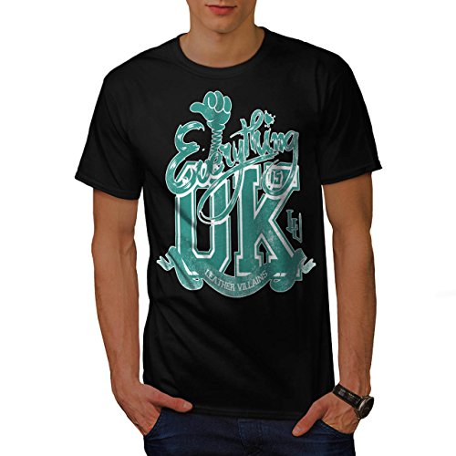 everything-is-okay-leather-life-men-new-l-t-shirt-wellcoda