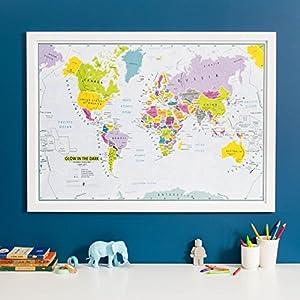 Children's World Map 5425013069939 – Juego de palos de golf para niños