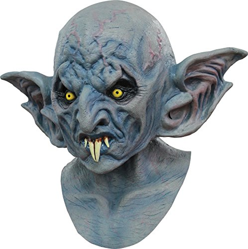 Ghoulish Men's Scary Vampire Vlad Horror Party Latex Halloween Costume Mask -