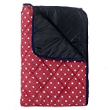 Extra Large Padded Picnic Blanket - Red