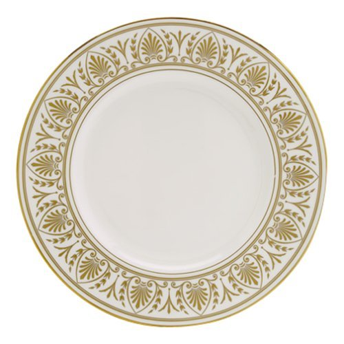 OKSLO Royal hannah gold ivory china 9 accent plate, crafted of ivory fine china by Model d3067