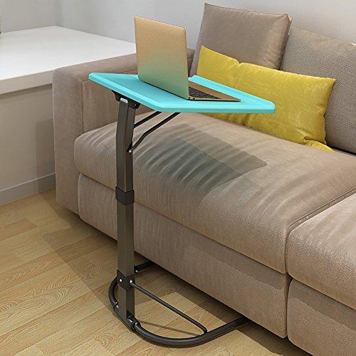 Table d'ordinateur réglable Bedside Laptop Desk Simple Secrétaire Famille Ezlife ( Couleur : Bleu )