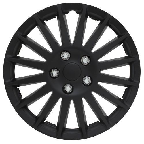 black 14 inch hubcaps - 5