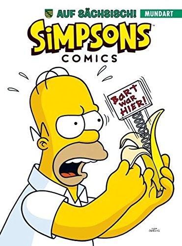 Simpsons Mundart: Bd. 4: Die Simpsons auf Sächsisch Taschenbuch – 12. Oktober 2015 Matt Groening Panini 3957982065 Sachsen