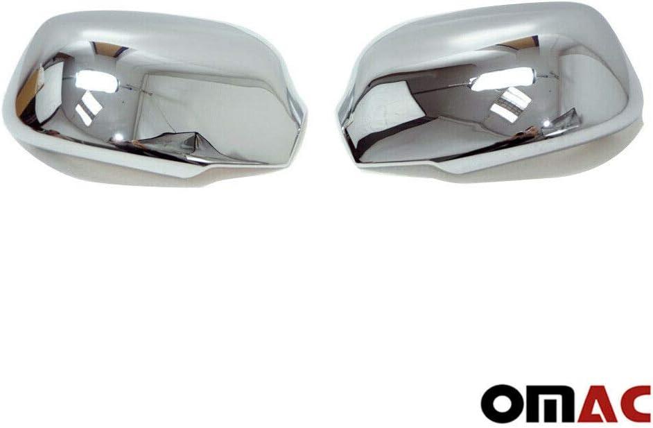 Mondeo 3 C-Max 2003-2010 Fusion 2006-2012 Chrom Spiegelkappen Blenden Spiegel Abdeckung Schutz f/ür Focus 2005-2008 Fiesta 2006-2009