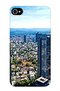 New Frankfurt Tpu Skin Case Compatible With Iphone 4/4s/ Perfect Design