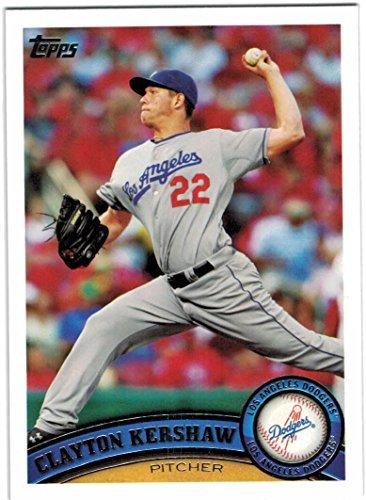 2011 Topps Los Angeles Dodgers Team Set with Clayton Kershaw - Matt Kemp - 18 Cards