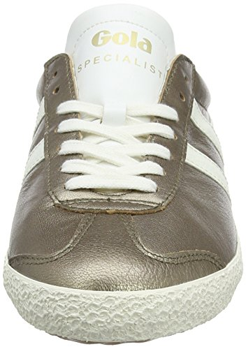 Specialist Silver Metallic Trainers Gola Pewter Women's White Off HwTqzpFzx