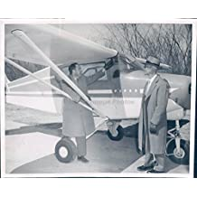 1957 Photo Walter Perry Doc Ice Cream George Scholl Airplane Transportation