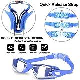 Swim Goggles, Hurdilen Swimming Goggles Anti-Fog UV