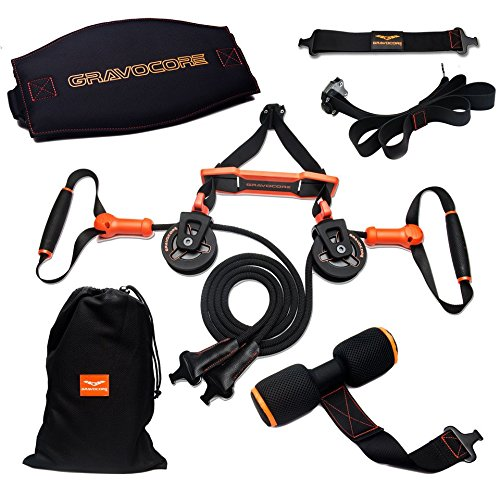 Gravocore-Revolutionary-Training-Machine-Build-Muscle-Burn-Fat-Portable-Lightweight-Workout-In-Less-Time-Variable-Intensity-Routines-Easier-On-Joints-Back-Digital-Workouts-Included