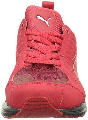Puma Pitlane SF 1 5, Baskets Basses Homme Rouge (Rosso Corsa/Rosso Corsa/Black)