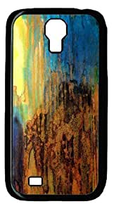 Black PC Case Cover for Samsung Galaxy S4 I9500 Hard Single Back Phone Shell Skin Samsung Galaxy S4 I9500 with Abstract Painting 6