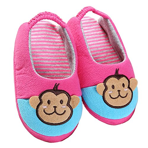 Pictures of Beeliss Toddler Girl Slippers Cartoon House Shoes 7 M US 3