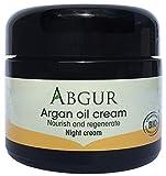 ABGUR Organic Argan Oil Night Cream Face Moisturizer 100% Pure 50ml 1.7oz For Sale