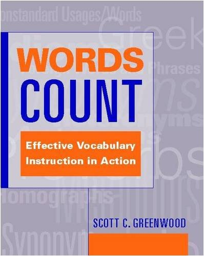 Download Words Count: Effective Vocabulary Instruction in Action pdf epub
