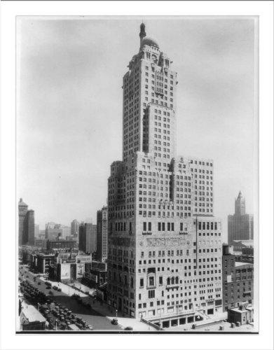 Historic Print (L): Medinah Athletic Club, Chicago, Ill.: Exterior of bldg.