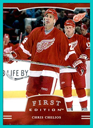 (2002-03 BAP Be A Player First Edition #185 Chris Chelios DETROIT RED WINGS)