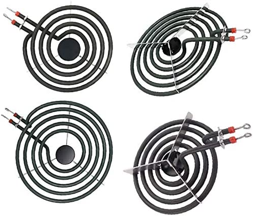 APPLIANCEMATES MP22YA(MP21YA/&MP15YA)Electric Range Burner Element Unit Set Compatible with Whirlpool Electric Range Stove Burners Replace 540331014 484783 TS5W8221 Y04000033