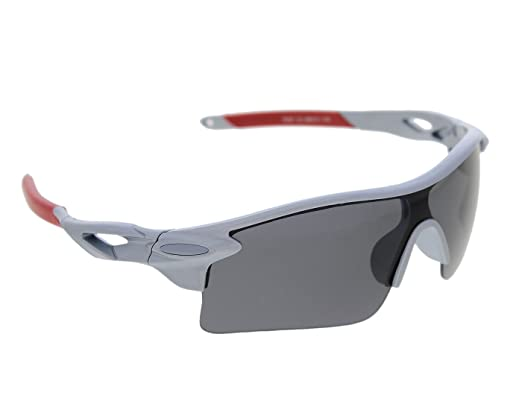 c67534c596e6 Vast UV Protected Sport Unisex Sunglasses  (SPORTY HALF JACKET 9181C3 grey