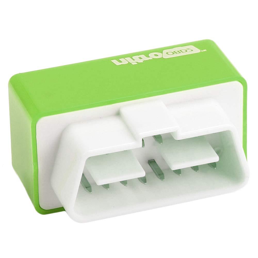 KingNew Plug and Drive NitroOBD2 Performance Chip Tuning Box for Petrol Cars Green-Eco