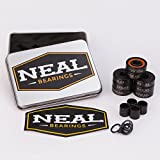 NEAL Precision Titanium Bearings 608RS - Skateboard - Inline - Longboard - Scooter