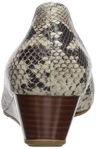 Cole Haan Kvinna Tali Grand Lac Wdg40 Wedge Pump Sahara Orm Print