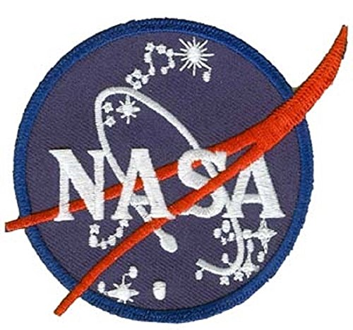 Nasa Space Program Vector Patch Emblem Made in -