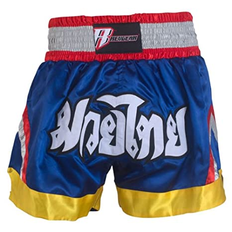 Revgear Deluxe Muay Thai Shorts REVG8 609012-BL-L-p