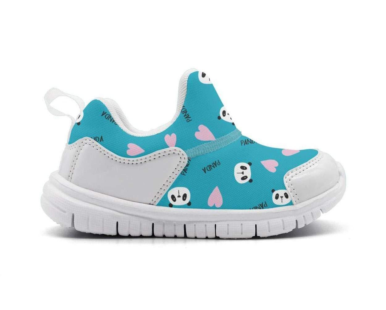 ONEYUAN Children Chinses Bear Panda Heads Kid Casual Lightweight Sport Shoes Sneakers Running Shoes