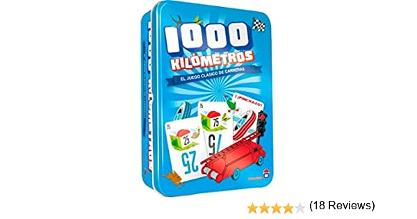 Asmodee- Juego de Tablero Mil Kilometros Classic (ADE0MIL02ES): Amazon.es: Juguetes y juegos