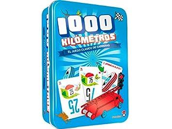 Asmodee- Juego de Tablero Mil Kilometros Classic (ADE0MIL02ES)