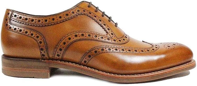 Loake Kerridge Shoes Tan 8.5 UK: Amazon