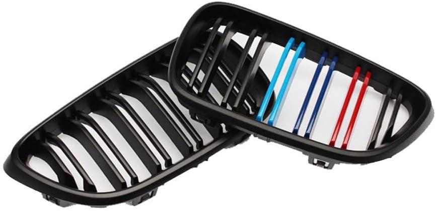 nero brillante ydieon Griglia paraurti anteriore nero lucido per griglia sportiva per BM/_W 2 Series F22 F23