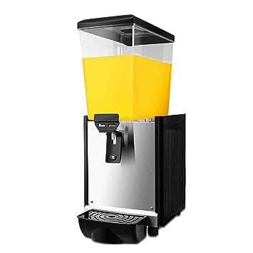 JCOCO Máquina de bebidas comerciales -304 Máquina de bebidas frías y calientes de acero inoxidable - Para jugo de té Café Fabricación -18L (3.96 galones): ...