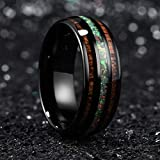 King Will Nature 8mm Tungsten Carbide Wedding Ring