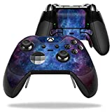 MightySkins Protective Vinyl Skin Decal for Microsoft Xbox One Elite Wireless Controller case wrap cover sticker skins Nebula Review