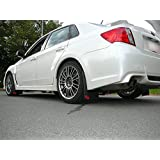 Subaru WRX or STI Sedan Rally Mud Flaps, 2011-2013, '11, '12, '13 RokBlokz