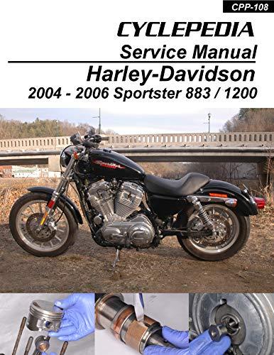 2004-2006 Harley-Davidson XL883C/XL1200R Sportster Service Manual ()