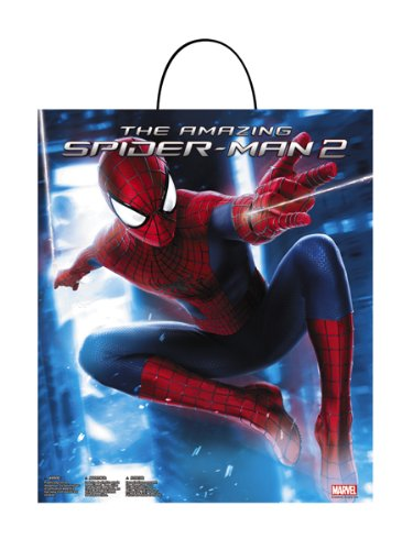 Disguise Marvel The Amazing Spider-Man 2 Movie Child Essential Treat Bag, No Size