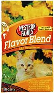 Western Family Cat Food, Blend, 3.5 Pound