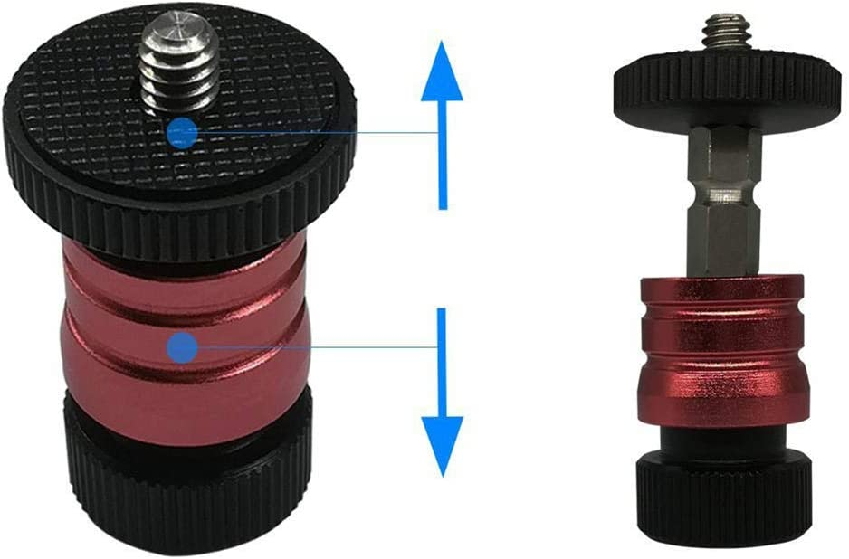 Ocamo Monitor PTZ Camera Hot Shoe Detachable Universal Magic Hand Fast Loading Small Mount Bracket red
