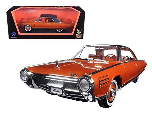 Road Signature 92448 1963 Chrysler Turbine Bronze 1/18 Diecast Model Car